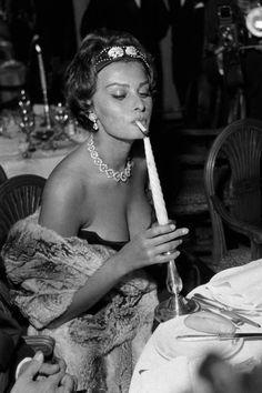 Lady Sophia Loren