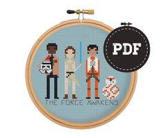 Star Wars The Force Awakens Parody Finn Rey Poe & by bertaMOMO