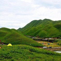 Yuanyang grassland areas in Zherong county, #Ningde is one of the best places to relax in spring and summer. The vast grasslands, blue sky and wildflowers make you feel like live in a picture. Beautiful and charming.#China #Travel #naturebeauty #nature #grassland