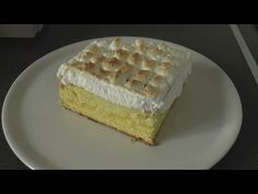 Gâteau génoise à la crème de citron - Une envie, Une recette
