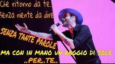 Un raggio di per te ... #unraggiodisole #jovanotti #parole #frasi #citazioni #riflessioni #amore #amare #song #text #quotelife #quotelove #quotestagram #quotetag #questoeungrandegiornodavivere #enonhaivistoancoraniente #dilloconunacanzone by @mauri4style via http://ift.tt/1RAKbXL