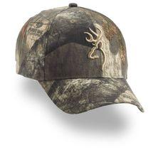 Browning Camo Cap w/3-D Buckmark Mossy Oak Treestand