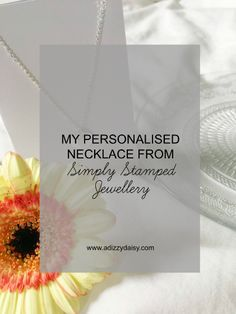 My Personalised Necklace From Simply Stamped Jewellery