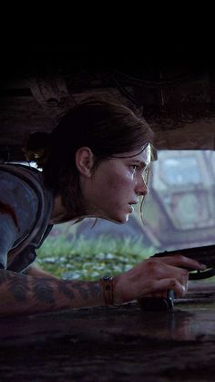 Last Of Us, Video Game Art, Video Games, The Lest Of Us, Cute Lockscreens, Edge Of The Universe, Arte Robot, Dark Drawings, Survival