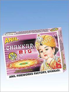 Ground Chakkar, Ground Spinner Cracker - Manufacturer & Supplier in Tamil Nadu