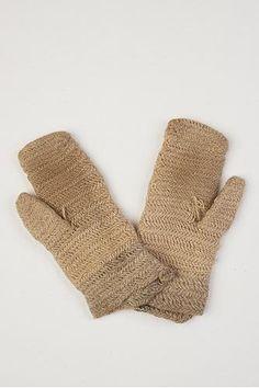 Nalbound mittens from Kattila, in Ingria, Russia (not far from St. Petersburg, near border of Estonia). Prior 1892. Length 29 cm, width 14-15 cm, thumb length 9 cm. http://en.wikipedia.org/wiki/Ingria