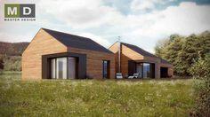 luxusní bungalov se sedlovou střechou Pstruží