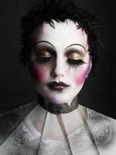 Dark Marionette Makeup!!