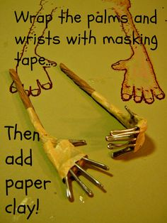 Hands & Fingers... A Mini-Tutorial! by Daryle & Katie Cook of Woodstown Whimsies