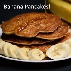 Video: 4 Surprising things you can make with only 2 ingredients! - GrownUps New Zealand Banana Pancakes 2 Ingredients, 2 Ingredient Recipes, Banana Dessert Recipes, Banana And Egg, Soft Foods, Breakfast For Kids, Healthy Smoothies, Food To Make, Healthy Recipes