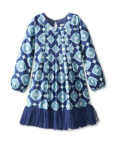 Masala Baby Kid's Ally Raaz Medallion Dress