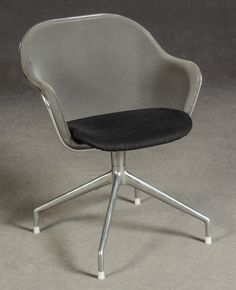 Set of 4 Luta Chairs by Antonio Citterio for B&B Italia