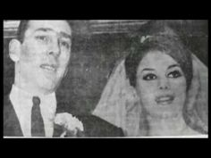 Reggie and Frances Kray on their wedding day.