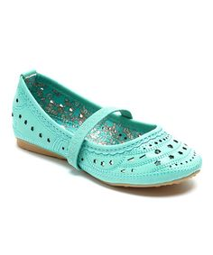 Loving this Mint Lotus Flat on #zulily! #zulilyfinds