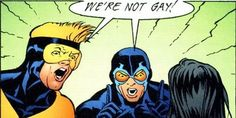 GAY GEEK GAY COMIC geeks | Published on June 1, 2012, by Scott - Posted in Comic Books 2