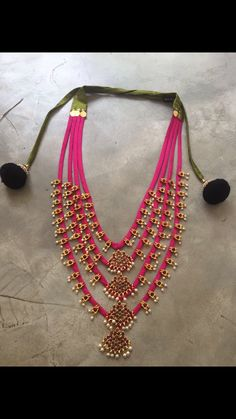 Fabric upcycled neckpiece