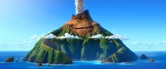 A look at the main character in Pixar's new short LAVA!