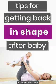 Postpartum fitness can be tough - but this post has some great real life tips for getting back in shape after a baby.  #fitness #postpartum
