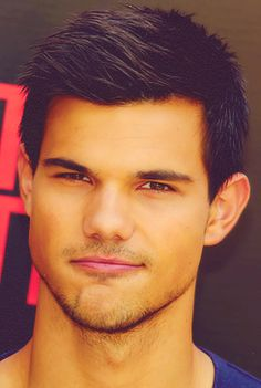 "Ok... Want to state a fact.... It is not Taylor Lautner's abs or arms that make me find him attractive... (even thought he has perfectly nice abs and arms). It's his smile.:) He has a really nice, almost goofy smile on his face in almost all of his pictures.:) and he always has got an ""I'm up to something"" look on his face.... So yeah...:) Js'.;) Carry on"