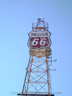 Clinton, OK - Phillips 66 Tower