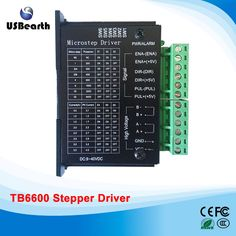 42/57/86 TB6600 stepper motor driver 32 segments upgraded version 4.0A 42VDC for cnc router