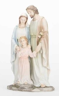 The Holy Family Jesus Mary And Joseph Statue Galleria Divina