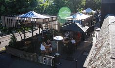 One of Melbourne's hidden gems, Pilgrim Bar is the perfect riverside spot for summer sipping. Premium cocktails featuring the best Australian craft spirits. Melbourne Bars, Pilgrim, Pop Up, Buildings, River, Group, Space, Outdoor Decor, Floor Space
