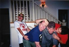 Chester, jeff blue, mike and joe (Hybrid Theory)