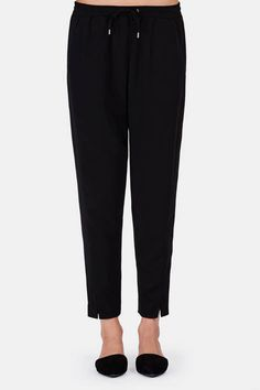 Atea Oceanie — Suiting Joggers   Black — THE LINE