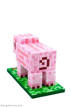 Minecraft  Pig Cake-back | Baking Obsession