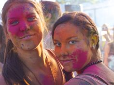 Coloured girls - Holi festival 2012 - munich / Germany CC-BY-NC-SA @josef_hajda