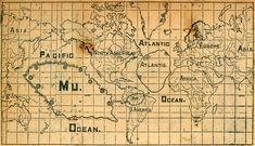 Continent of Mu (Lemuria) Map Gallery