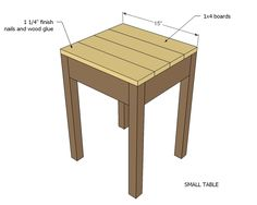 Nesting side tables with cute cottage charm for your living room! DIY plans to build these nesting end tables inspired by Pottery Barn Pratt Nesting Side Tables. Sand Projects, Diy Projects, Diy Table, Wood Table, End Table Plans, Wood Nesting Tables, Base Moulding, Bookshelf Plans, Cute Cottage