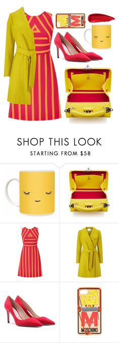 """""""Mousetrap"""" by cherieaustin ❤ liked on Polyvore featuring Windsmoor, Prada, Moschino and Sisley"""