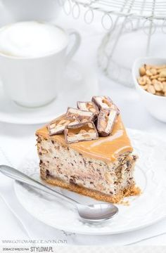 Sernik snickers przepis blog -gotuję bo lubię Składniki… na Stylowi.pl Sweet Life, Other Recipes, Yummy Cakes, No Bake Cake, Banana Bread, Muffins, Recipies, Cheesecake, Good Food