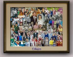 Creative ideas from family photography! Gift for son, daughter, parents and spouses to frame and hang. Perfect ideas for family reunions. Family Christmas Pictures, Family Pictures, Family Picture Collages, Picture Gifts, Anniversary Photos, Parent Gifts, Old Photos, Family Photography, Photo Art