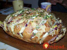 Výborná večera zo staršieho chlebíka, alebo skvelé pohostenie pre návštevy. :-)