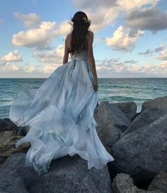 2017 Newest Spaghetti Straps Elegant Backless Vintage Colorful Prom Dresses The Long prom dress are fully lined, 8 bones in the bodice, chest pad in the bust, Colorful Prom Dresses, Ombre Prom Dresses, Open Back Prom Dresses, Grey Bridesmaid Dresses, Backless Prom Dresses, A Line Prom Dresses, Prom Party Dresses, Dress Prom, Evening Dresses