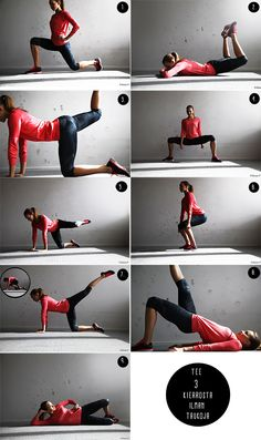 15-minute booty workout at home! Vilma.P/MyCosmo