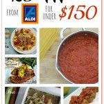 25 Meals for under $150 at Aldi