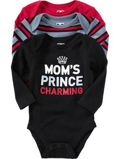 Bodysuit 3-Packs for Baby   Old Navy- I LOOOOOVE THIS!!!