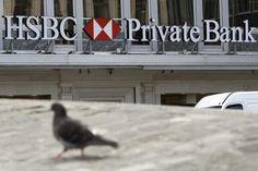La sede della HSBC Bank a Ginevra © EPA