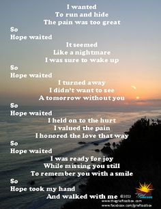 Hope Waits | The Grief Toolbox