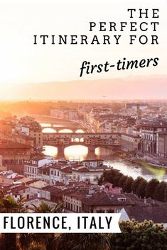 What to do in Florence, Italy. The perfect itinerary for first-time visitors to Firenze. This travel guide covers where to stay, what to do, and the best restaurants, gelato, and cafes. Best museums - Uffizi, David, and Boboli Gardens!