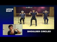 Dance Along Workout for Seniors and Elderly - Low Impact Dance Exercise on Chairs - YouTube