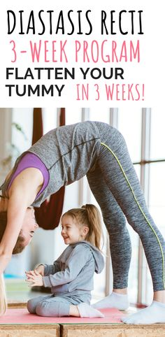 Heal your diastasis recti in 3 weeks with the ab rehab program. You can help your tummy and abs come closer together! #diastasisrecti #mommytummy #mommypooch #abs