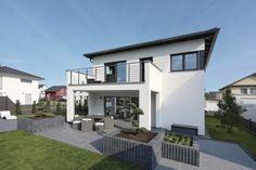 Garten mit Hochbeete - WeberHaus City Life Architektenhaus.jpg