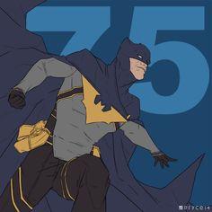 Batman by Jamal Campbell
