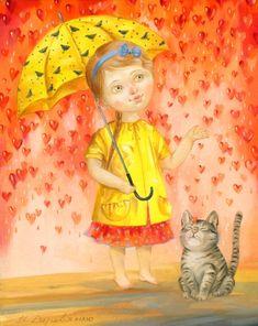 Наталья Деревянко очень талантливый художник,её работы очень нежные тёплые мягкие ... - Картинки для декупажа