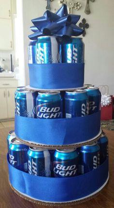 Bud Light Cake ★☆★ So simple Christmas gift for the beer drinker